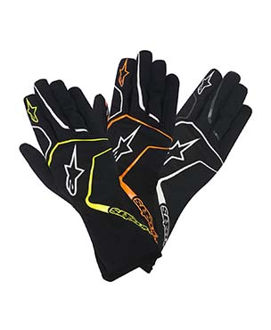 AlpineStars Tech-1 K RACE Gloves for Sim-Racing