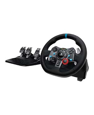 Logitech G29 Driving Force Racing Steering Wheel & Pedal Set