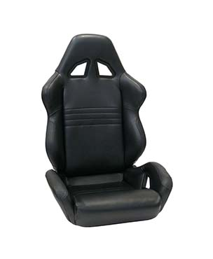 Reclining Racing Simulator Seat with Lateral Support