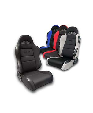 All-Cloth Racing Simulator Seat with Sliders