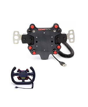 RealGear WHEELpro Small Button Box with Paddles