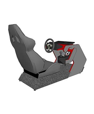 RS1 DIY Cockpit Plans and Templates - Made for Logitech G25/G27/G29/G920