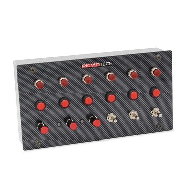 RealGear RACEpro H20 Panel-Style Programmable Button Box