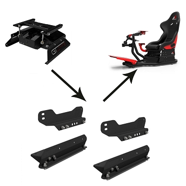 Next Level Racing Motion Adapter Brackets for Rseat RS1