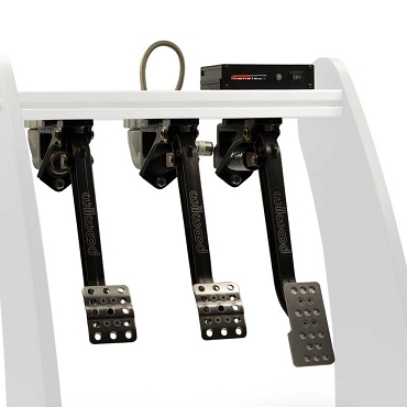 RealGear GTpro1-S Triple Overhung Mount Wilwood Edition 3-Pedal Set
