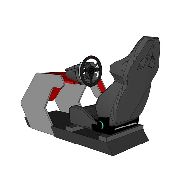 RS500 DIY Cockpit Plans and Templates - Made for Thrustmaster T300/TX/T-GT/TS-XW/TS-PC
